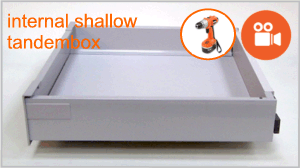 Blum tandembox shallow internal drawer box