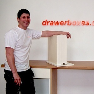 drawerboxes.co.uk installer making assembly videos