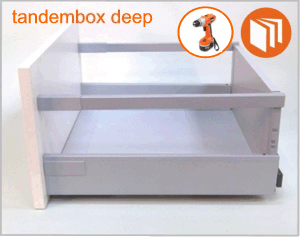 Blum Tandembox deep drawer box