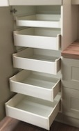 SPACE TOWER BLUM METABOX (4 Deep 1 Shallow) Internal kitchen drawers