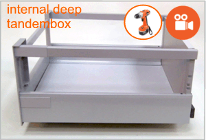 Blum tandembox deep internal drawer box