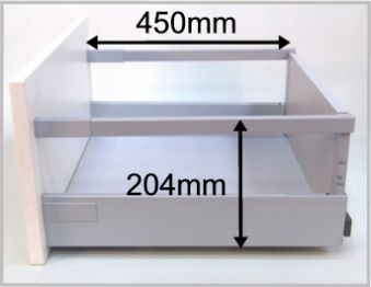 Exceptionnel Blum Tandembox Antaro Replacement Drawer Box 204mm High Sides