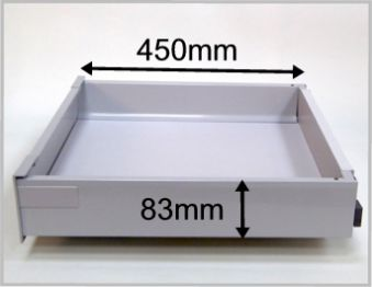 Blum Tandembox Antaro Internal Drawer Box With 83mm High Sides