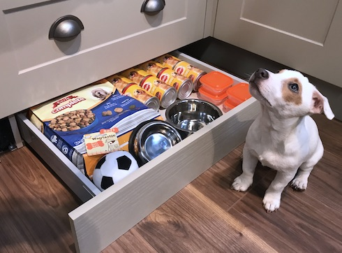 under cabinet plinth drawer