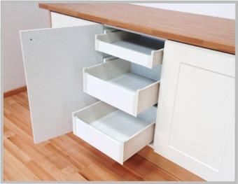 kitchen drawers.  INTERNAL BLUM METABOX 3 Kitchen Drawer Pack 1 X Shallow 2 Deep Internal Blum Metabox Kitchen Drawers PACK Any Size