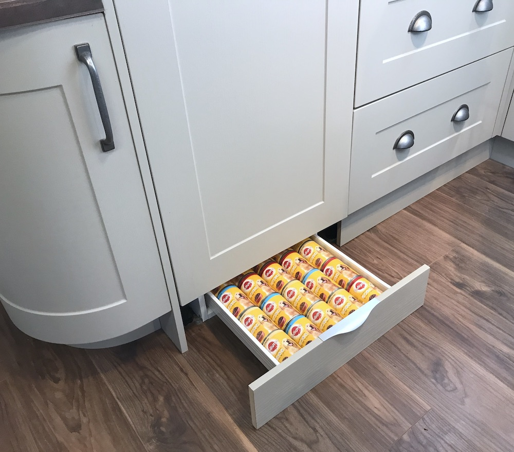Plinth Pods The Under Cabinet Storage Solution Retrofit