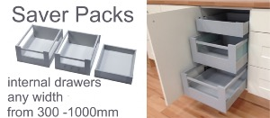 BLUM INTERNAL DRAWER SAVER PACKS