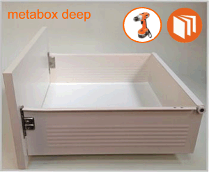 Blum Metabox deep drawer box